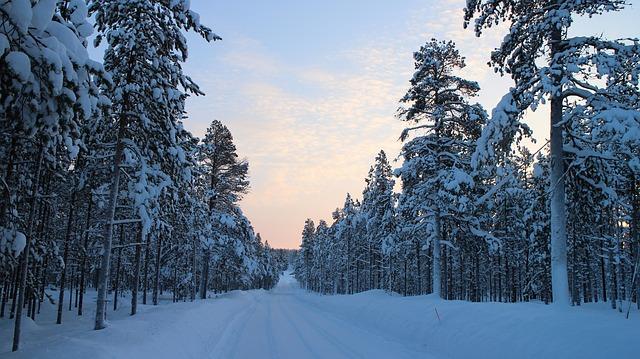 zasněžené silnice