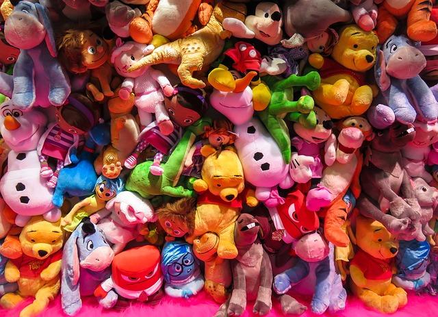 plyšové hračky
